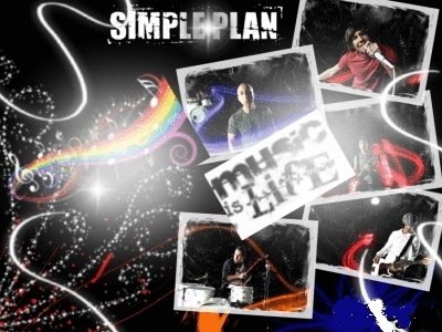Simple Plan achtergrond possibly containing anime called simple plan :*