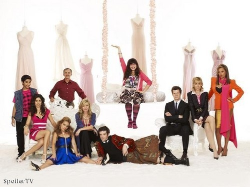 ugly betty season 3 cast photo
