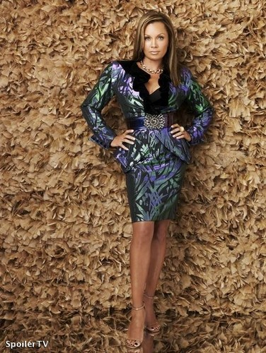 Ugly Betty wallpaper with a playsuit entitled wilhelmina slater/ vanessa williams
