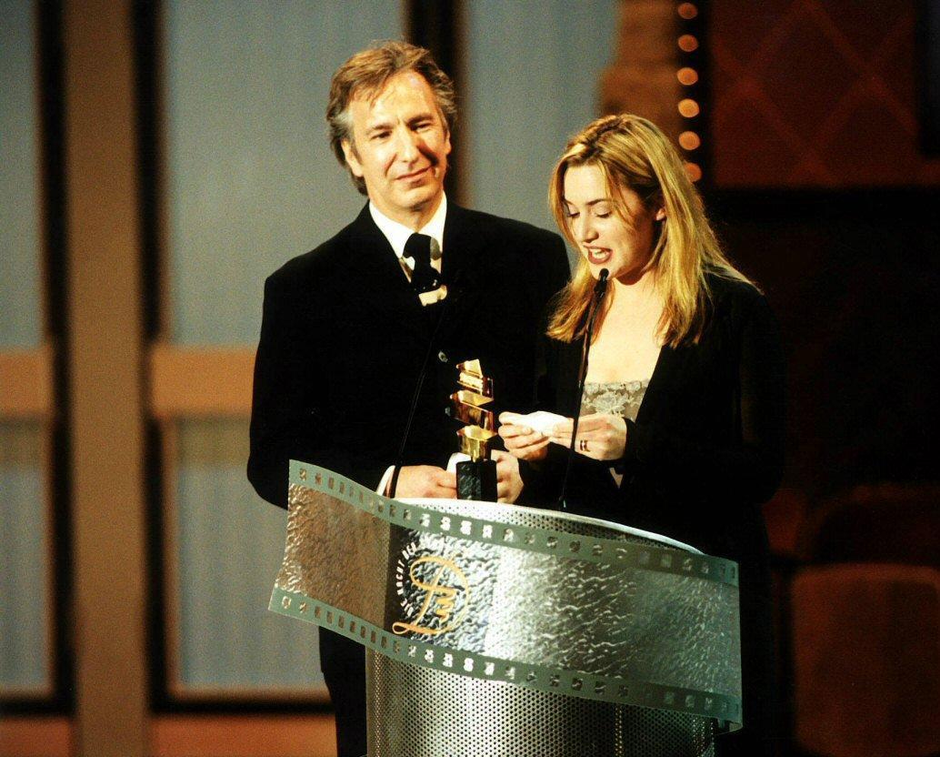 Alan Rickman&Kate Winslet