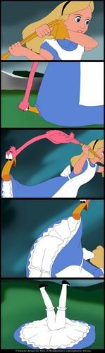 Alice flipped