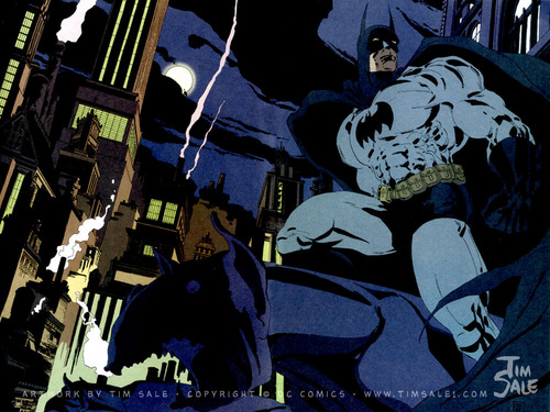 Batman wallpaper possibly containing anime entitled Batman The Long Halloween