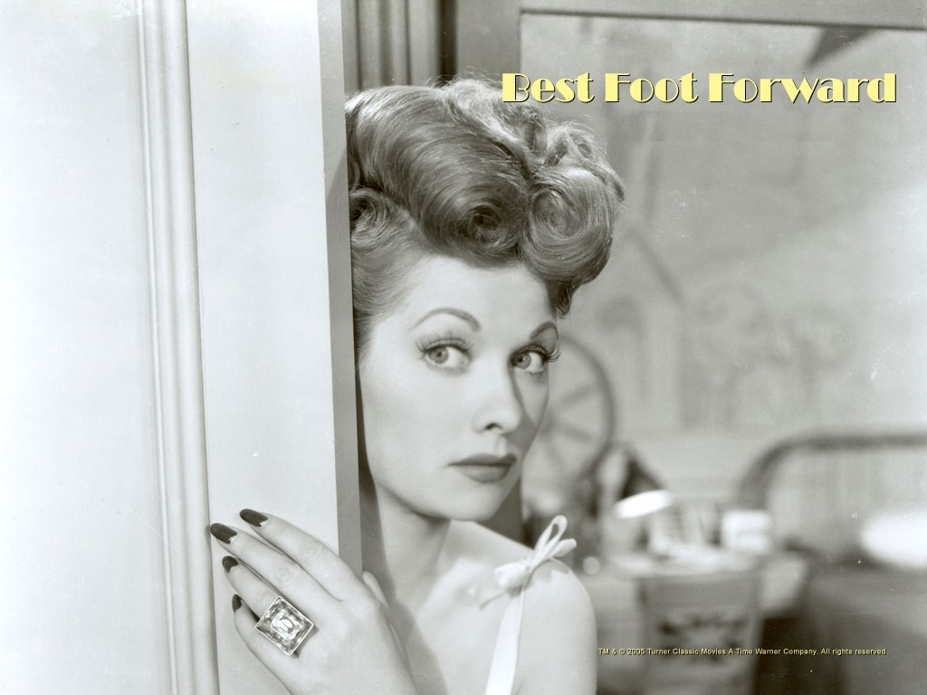 Lucille Ball Feet