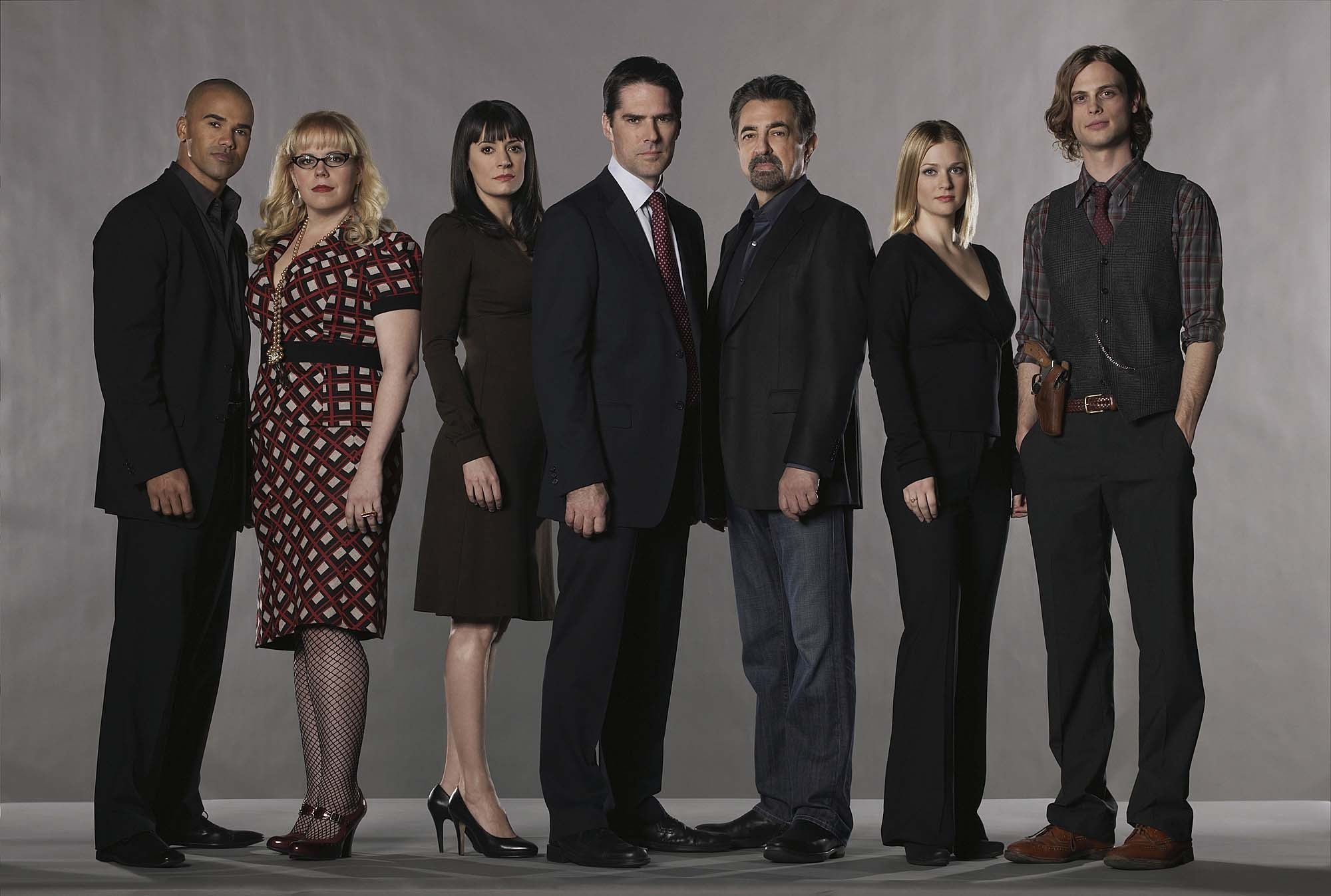 Criminal Minds Cast (HQ)