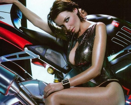 Dannii Minogue MotorCycle