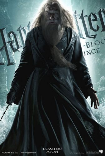 Dumbledore in HBP! (HQ)
