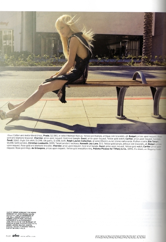 ELLE magazine April 2009