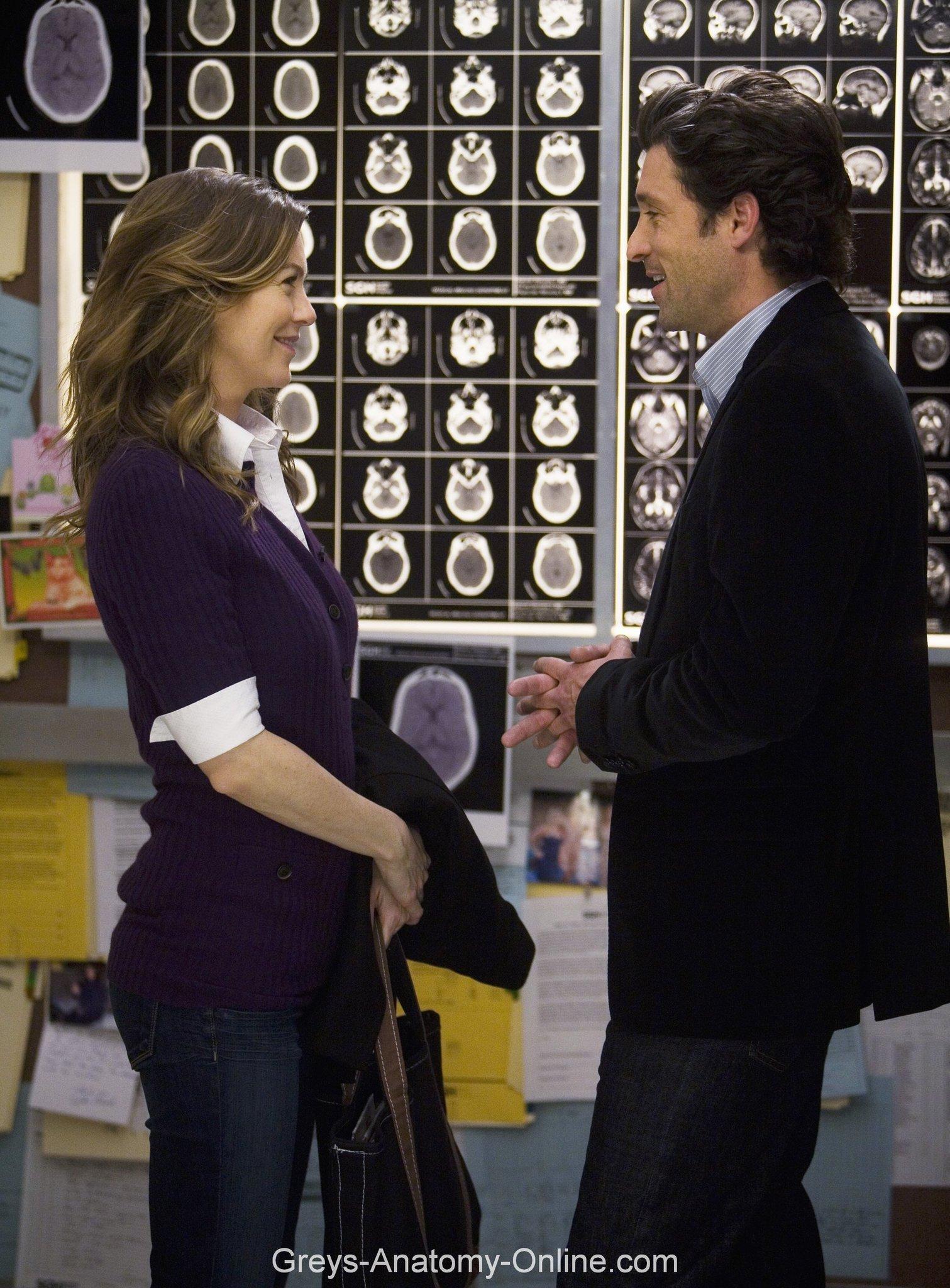 ... Photos - Grey S Anatomy 5x19 Elevator Love Letter Meredith And Derek