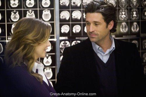 Meredith & Derek karatasi la kupamba ukuta titled Elevator upendo Letter