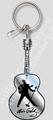 Elvis Silhouette Keychain