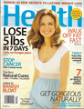 Emily Deschanel in Health Magazine
