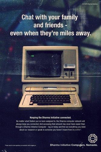 Fictional Dharma Initiative Ads