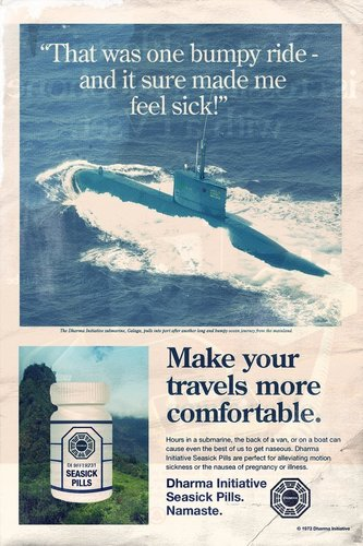 Fictional Dharma Initiative Ads
