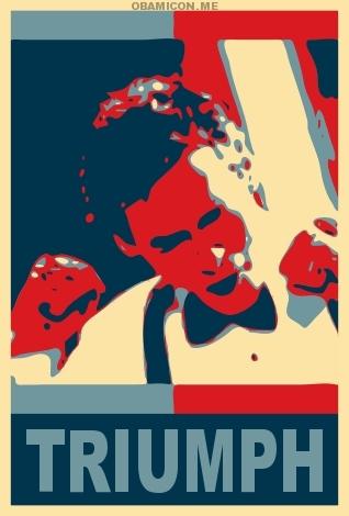 House/Obama Poster