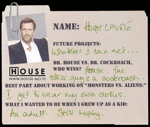Hugh's 回答