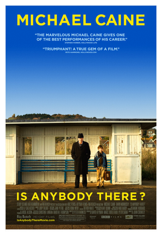 is anybody there movie poster michael caine fan art