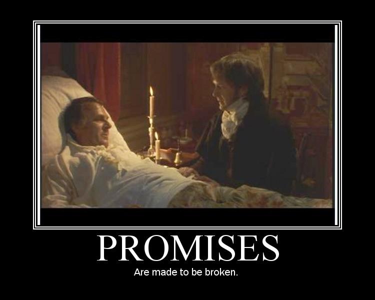 John Dashwood - Promises