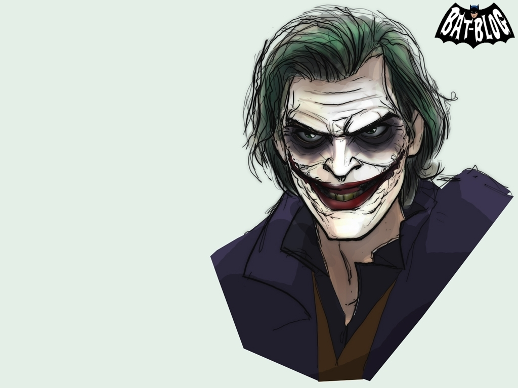 Batman and Joker coloring page Free Printable