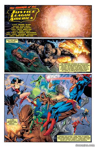 Justice League Origin part 1