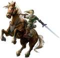 Link and Epona - the-legend-of-zelda photo