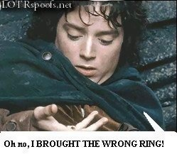 Lord of the Rings Spoof
