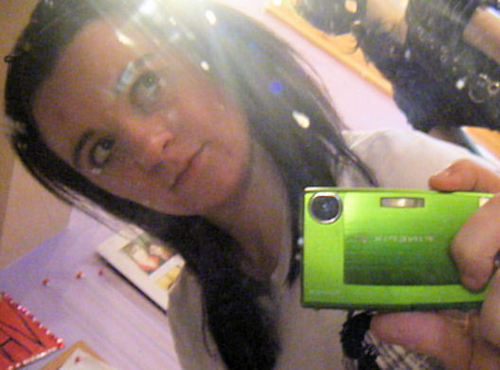 Me with my gorgeous camera =D