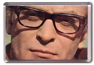 Michael Caine Fridge Magnet