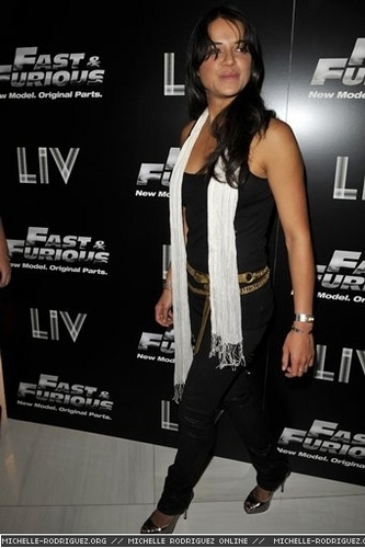 Michelle @ Fast & Furious Release - 2009