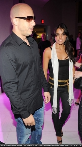Michelle & Vin @ Fast & Furious Release - 2009
