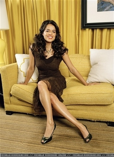 Michelle in OK Magazine - 2006