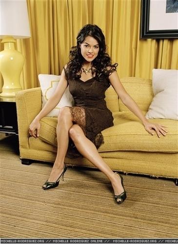 Michelle in OK Magazine - 2006