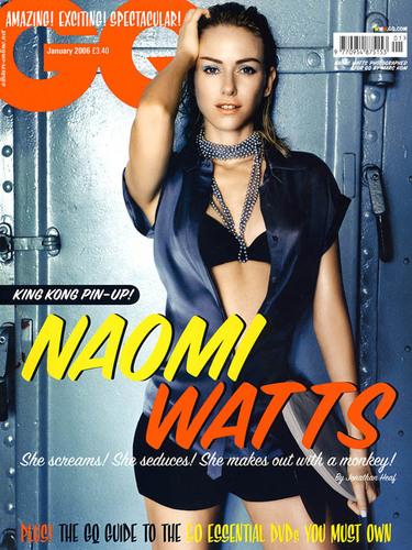 Naomi on GQ UK (January 2006)