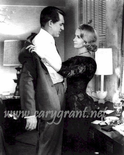 North sa pamamagitan ng north West,Cary Grant and Eva Marie Saint
