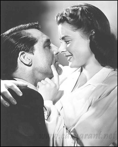 Notorious,Cary Grant and Ingrid Bergman