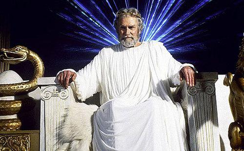 Olivier as Zeus