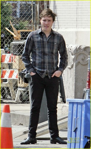 On the set (March 27)