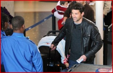 Patrick At the Aiport