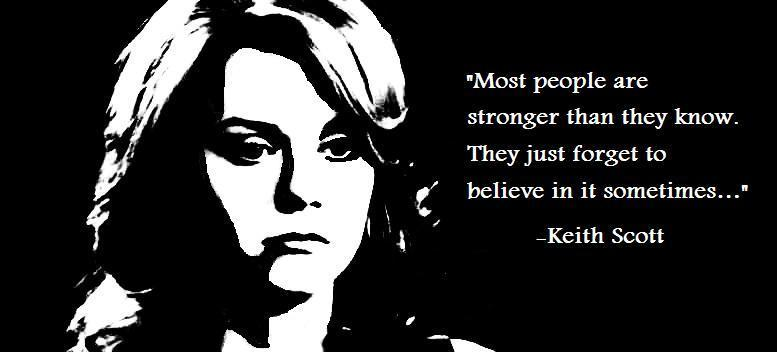 Peyton & Keith Quote - One Tree Hill Quotes Fan Art (5135090 ...