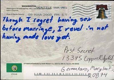 PostSecret - 22 March 2009