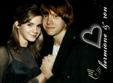 romione wallpaper containing a portrait entitled Ron and Hermione