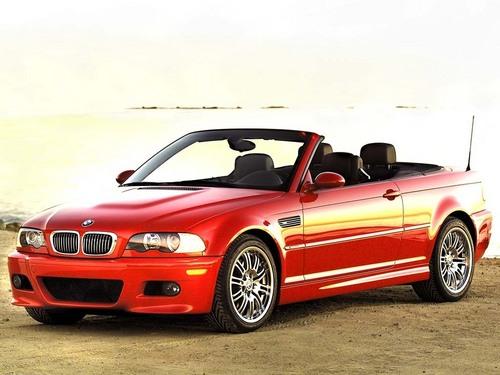 Rosalie's BMW M3 Convertable
