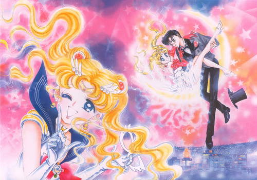 Sailor Senshi Wallpaper Entitled Sailor Moon Manga