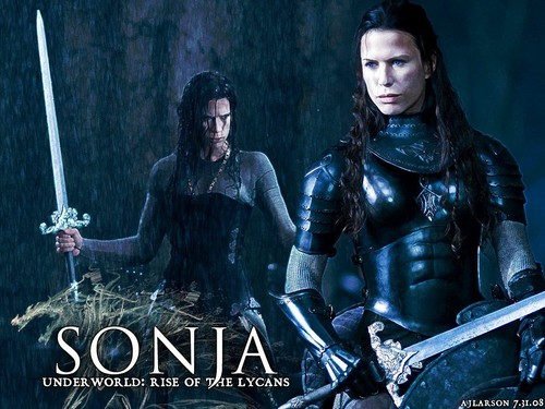 Underworld wallpaper containing a breastplate entitled Sonja