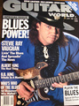 SRV - Guitar World cover - stevie-ray-vaughan fan art