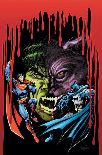 Супермен and Бэтмен VS Вампиры and Werewolfs