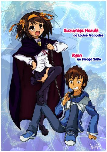 Suzumiya Haruhi + Kyon - SHnT