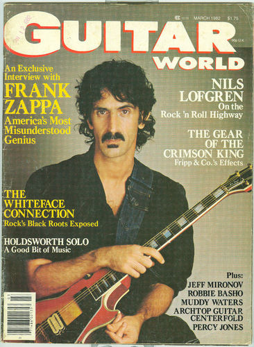 Zappa - magazine cover
