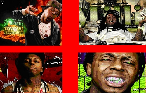 Lil' Wayne wallpaper with anime titled lil wayne