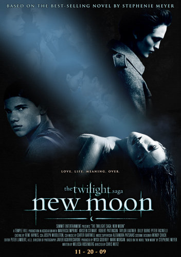 new moon - twilight-series Fan Art