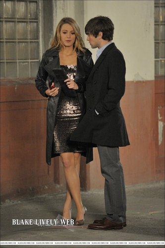 on set-serena and nate